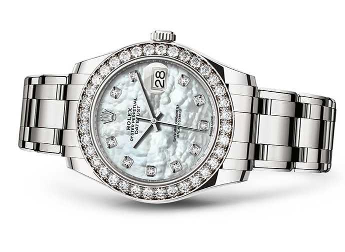 Часы женские Rolex Date just Pearlmaster