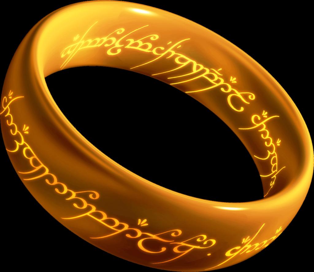 Кольцо всевластия из карбида вольфрама.